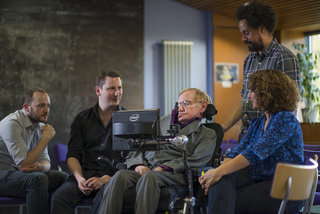 Professor Stephen Hawking uses SwiftKey to help him express his genius