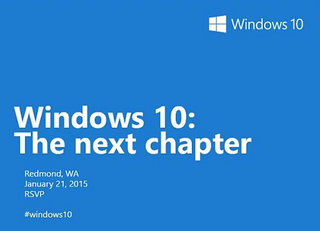 Microsoft will show off Windows 10 features for consumers at January event