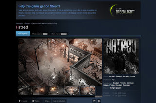vile mass murder game hatred back on steam with gabe newell s blessing image 2