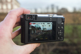 hands on panasonic lumix tz70 review viewfinder upgrade for 30x travel zoom image 6