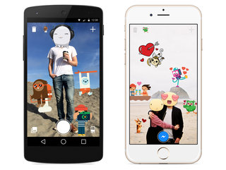 Facebook gives Messenger holiday-inspired features and launches an app just for stickers