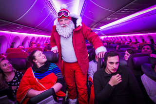 How Virgin Atlantic gave the passengers of flight VS11 a tech Christmas to remember