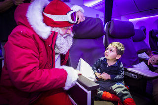 how virgin atlantic gave the passengers of flight vs11 a tech christmas to remember image 51