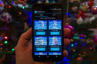 swiftkey s frozen theme adds disney magic to your keyboard doesn t predict song lyrics image 2