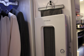lg styler will freshen your clothes to save washing and ironing hands on  image 5