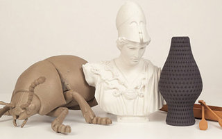 MakerBot now lets you fake 3D print wood, metal, and stone