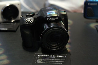 Canon PowerShot SX530 HS and SX710 HS super-zoom cameras (eyes-on)
