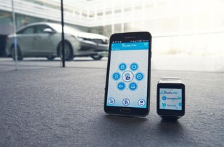 You can now use an Android Wear watch to remotely control your Hyundai car