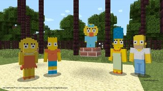 Minecraft to launch 'The Simpsons' DLC pack next month for Xbox One and 360