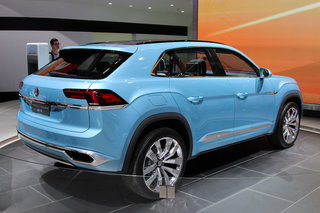 volkswagen cross coupe gte concept the tiguan from the future hands on  image 3