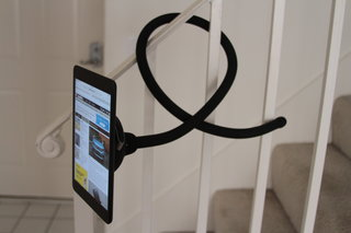 Octa TabletTail MonkeyTail is an iPad stand with a lot of potential, if you got a place for it (hands-on)