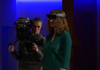 Microsoft wants to add holograms to your world through Windows Holographic and HoloLens headset