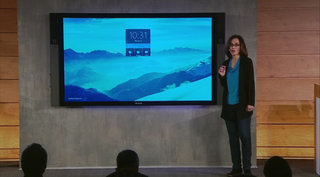 Microsoft Surface Hub is an 84-inch 4K tablet, basically