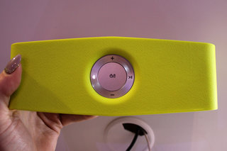 lg p7 music flow bluetooth speaker hands on colour quality and portability image 4