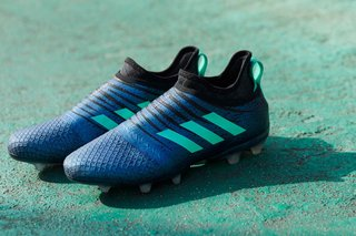 We speak to the designer of Adidas' interchangeable skin football boots