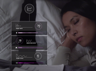 Luna mattress cover tracks your sleep and controls your smarthome at night