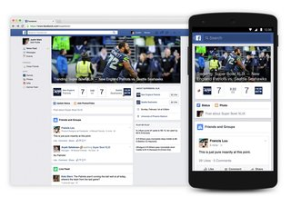 Super Bowl 2015: Facebook launches an 'experience' hub with live scores, posts, and photos