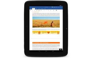 Microsoft Office hits Android tablets with Word, Excel and PowerPoint