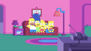 The Simpsons goes 8-bit with fan made pixel art intro