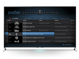 Sony offers integrated YouView on 2015 Bravia range