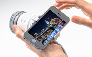 Olympus Air 101 takes on Sony Cyber-shot QX10 with open platform remote lens