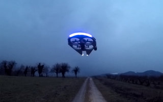 Want to know how to build your own Millennium Falcon drone?