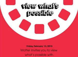 Google and Mattel have an event next week for some mystery product, possibly VR-related
