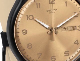 Swatch taking on Apple Watch with wearable you don't charge