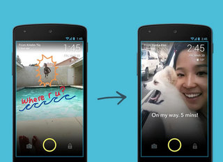 Screenpop is a new Android app that sends photo messages to your lock screen