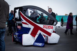 Are driverless pod cars really the future? The UK government seems to think so