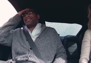 Watch what happens when a stunt driver takes an unsuspecting guy on a date in a Ford Mustang