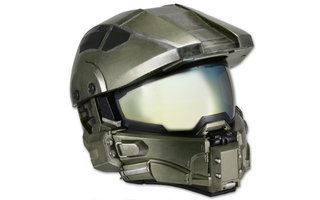 Halo fans: Master Chief motorbike helmet should arrive this July