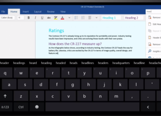 Microsoft Office universal touch apps: Here's what to expect from Office for Windows 10