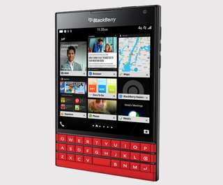 BlackBerry finally brings its limited edition red BlackBerry Passport to the UK