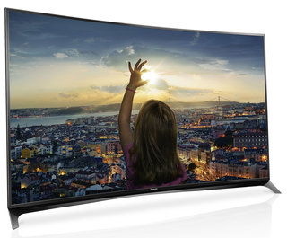 Panasonic enters curved TV market: Viera CR850 heads-up 4K LED range for 2015