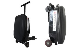 Can your suitcase hit 20kph? The Briefcase Electric Scooter can
