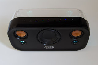 x mini clear bluetooth speaker review image 2