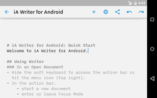 ia writer text editor finally launches for android and it didn t pain the developer too much image 2