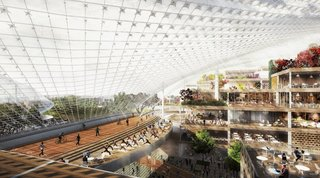 new google campus to challenge apple s spaceship office for coolest place to work image 4