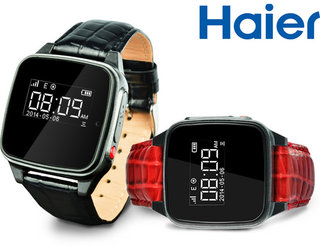 Where's Grandma? Don't worry, she's wearing Haier's new super snooping wearable