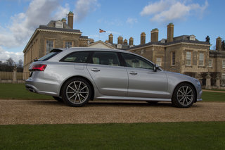 audi a6 avant 2015 first drive home from stately home image 3
