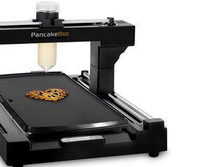 Wish you could draw pancake art? Now you can let PancakeBot print it for you