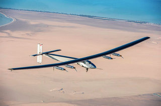 What is the Solar Impulse 2 and how will it fly the globe with no fuel?
