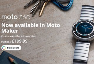 Moto Maker for Moto 360 comes to the UK, alongside Moto G with 4G LTE