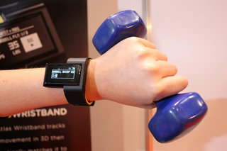 gym addict the atlas wristband knows if you re bench pressing or bicep curling image 2
