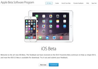 Apple launches first-ever public iOS beta for iOS 8.3