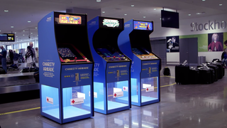 Play Space Invaders and raise money for charity? Job's a good'un