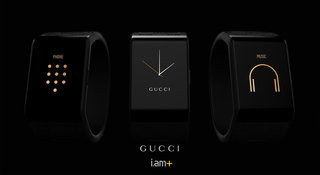 Gucci and will.i.am unveil fashionable smartband, look out Apple Watch