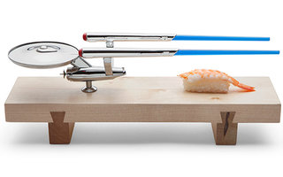 Star Trek U.S.S. Enterprise Sushi Set: Boldly go where no fish has gone before