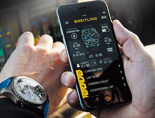 Breitling just entered the smartwatch game with its B55 Connected